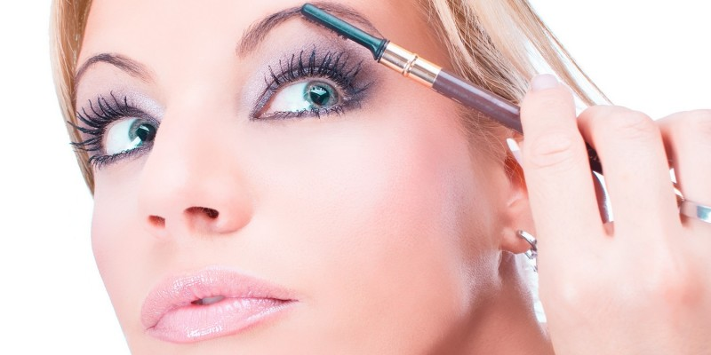 Sportliches Make-up